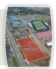 new middle school location