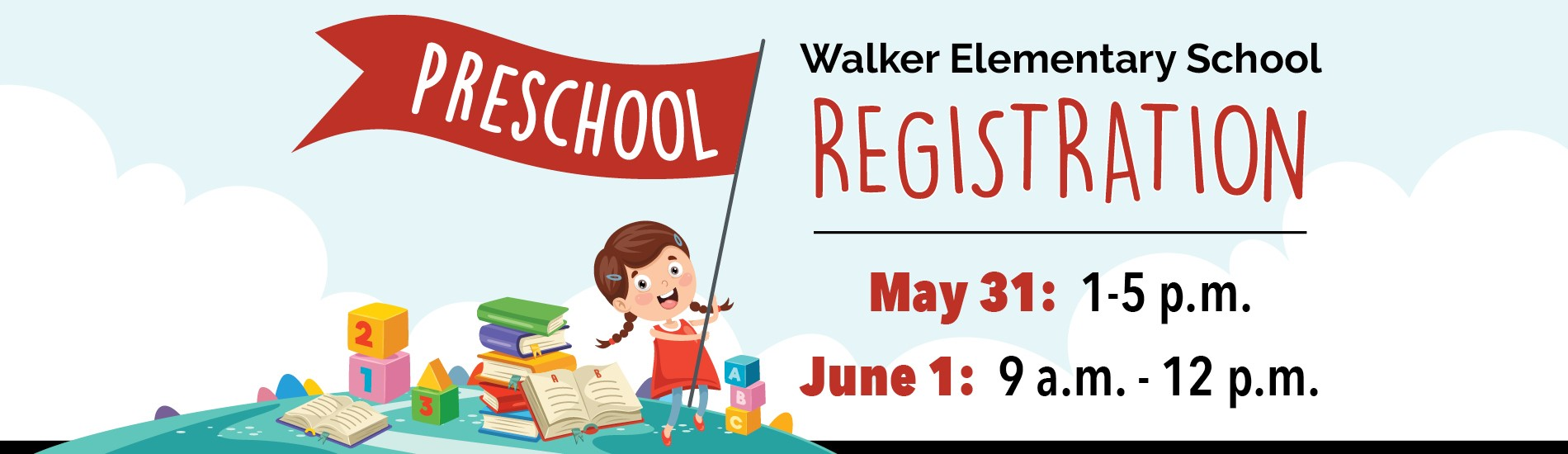 Walker Preschool Registration