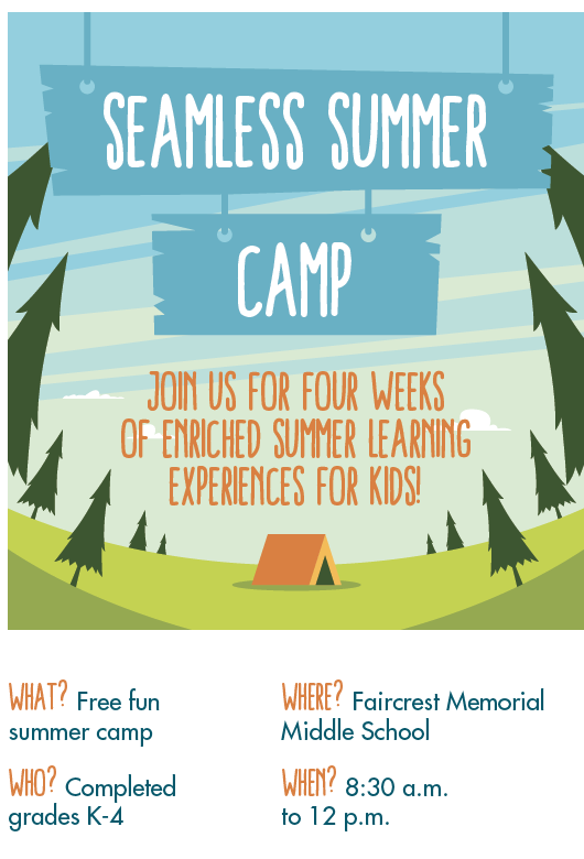 seamless summer camp